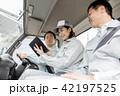女性 トラック ドライバーの写真 42197525