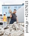 男性 工事 建設業の写真 42197615
