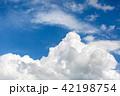 夏の青空 42198754