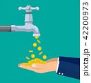 蛇口 タップ コインのイラスト 42200973