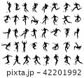 サッカー フットボール 蹴球のイラスト 42201992