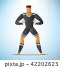 ゴールキーパー 目標 目的のイラスト 42202623
