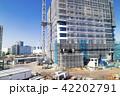 建設現場 建設 マンションの写真 42202791