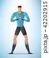 ゴールキーパー 目標 目的のイラスト 42202915