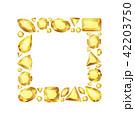 ベクター イラスト 宝石のイラスト 42203750