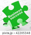 ビジネス 商売 パズルのイラスト 42205348