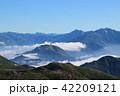 北アルプス 風景 山の写真 42209121