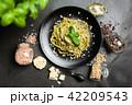 ジェノベーゼ スパゲティ パスタの写真 42209543
