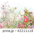 お花 フラワー 花のイラスト 42211118