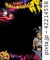 ハロウィン背景素材 42214556