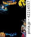 ハロウィン背景素材 42214557