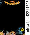 ハロウィン背景素材 42214898
