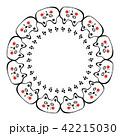 円 丸 丸いのイラスト 42215030