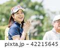ゴルフ 女性 ゴルファーの写真 42215645