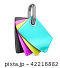 シアン・マゼンタ・イエロー・ブラック CMYK 色のイラスト 42216882