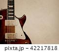 背景-紙-エレキギター 42217818
