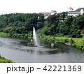 夏の胎内川 42221369