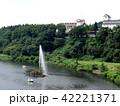 夏の胎内川 42221371