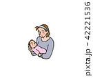 赤ちゃんとママ 42221536