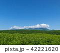 知床 知床連山 山並みの写真 42221620