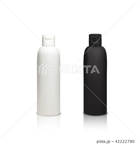 Cosmetic plastic bottles 3D vector illustration 42222780