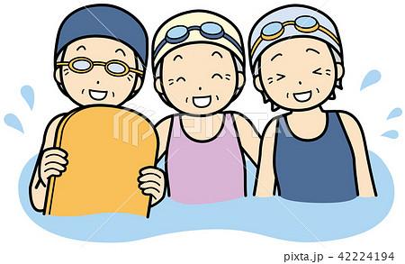 水泳 42224194
