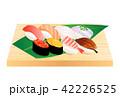寿司 日本食 食べ物のイラスト 42226525