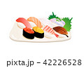 寿司 日本食 食べ物のイラスト 42226528