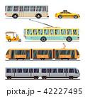 交通 運輸 搬送のイラスト 42227495