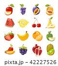 くだもの フルーツ 実のイラスト 42227526
