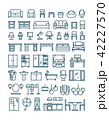 アイコン ベクトル 家具のイラスト 42227570
