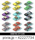 車 自動車 タクシーのイラスト 42227734