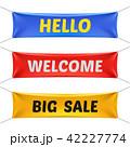 HELLO こんにちは ハローのイラスト 42227774