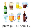 お酒 びん ビンのイラスト 42228015