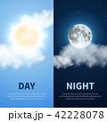 ナイト 天気 気象のイラスト 42228078