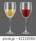 お酒 ガラス製 グラスのイラスト 42228566