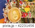 鷲神社 一の酉に並ぶ熊手 42231456