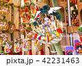 鷲神社 一の酉に並ぶ熊手 42231463