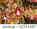 鷲神社 一の酉に並ぶ熊手 42231467