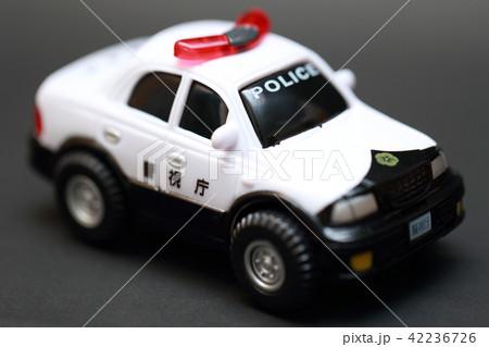 パトカー (交通ルール 事件 事故 コピースペース 乗り物 車 ミニカー おもちゃ オモチャ 玩具) 42236726