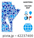 マップ ベクター ブルーのイラスト 42237400