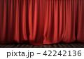 カーテン ステージ 立体のイラスト 42242136