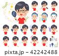 red Tshirt Glasse men_beauty 42242488