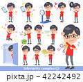 red Tshirt Glasse men_complex 42242492