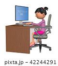 プログラミング教育(女の子) 42244291