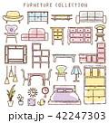 家具 アイコン インテリアのイラスト 42247303