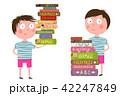 ブック 書籍 本のイラスト 42247849