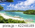 川平湾 夏 海の写真 42248189