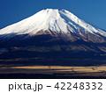富士山 富士 初冬の写真 42248332