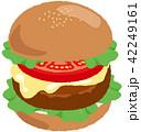 ハンバーガー 42249161